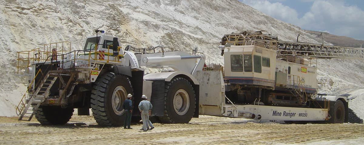 Ezy Fit WA Mine Ranger MR250 with Crane