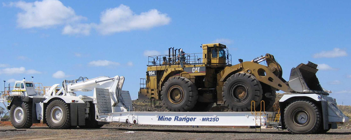 Ezy Fit WA Mine Ranger MR250 with Loader